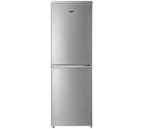 Buy Bush BFFF50152S Fridge Freezer- Silver at Argos.co.uk, visit ...