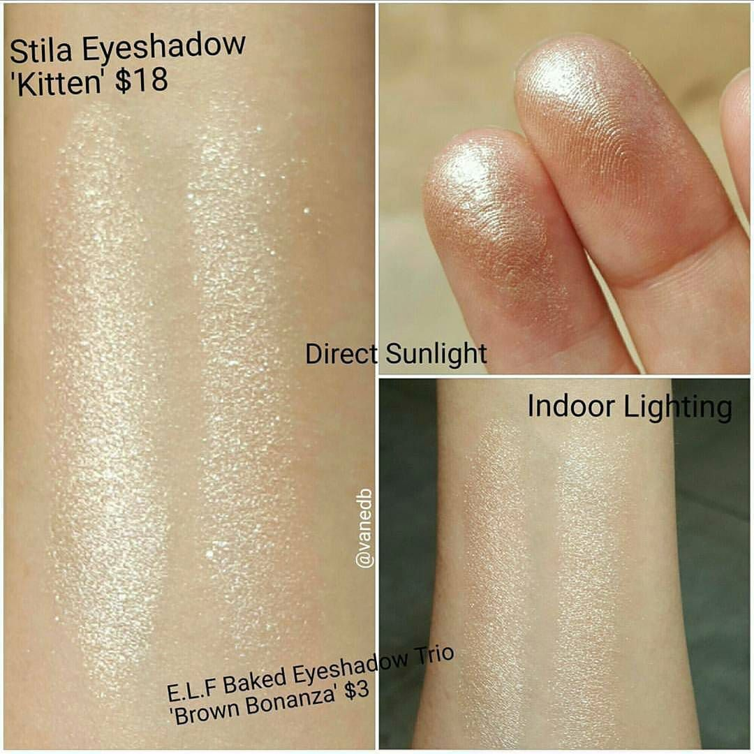 Dupethat On Instagram Thank You Vanedb For Sharing This Dupe For Stila Kitten Eyeshadow Tag Us In Yo Stila Kitten Eyeshadow Eyeshadow Dupes Stila Eyeshadow