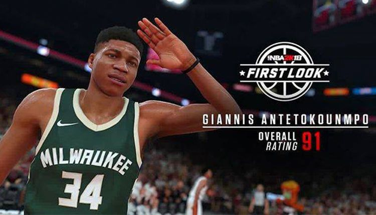 2K Sports announced the rating of Giannis Antetokounmpo for the NBA 2K18