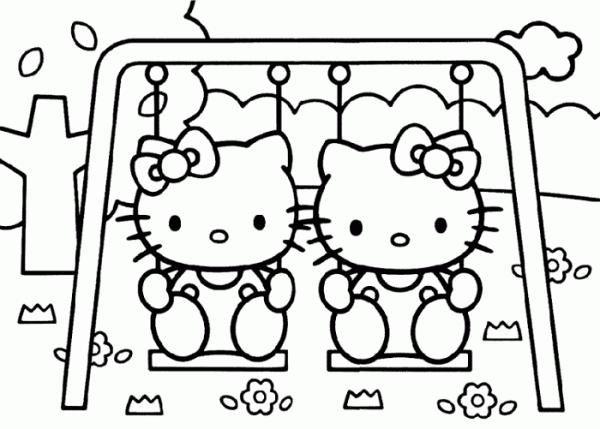 Dibujos para colorear de Hello Kitty - 9 pasos - unComo sobre fomi - new coloring pages with hello kitty