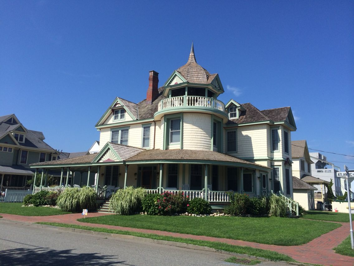 Old Victorian Mansion Long Beach Island New Jersey Photo Taken By Jds Long Beach Island Victorian Homes Beach Haven