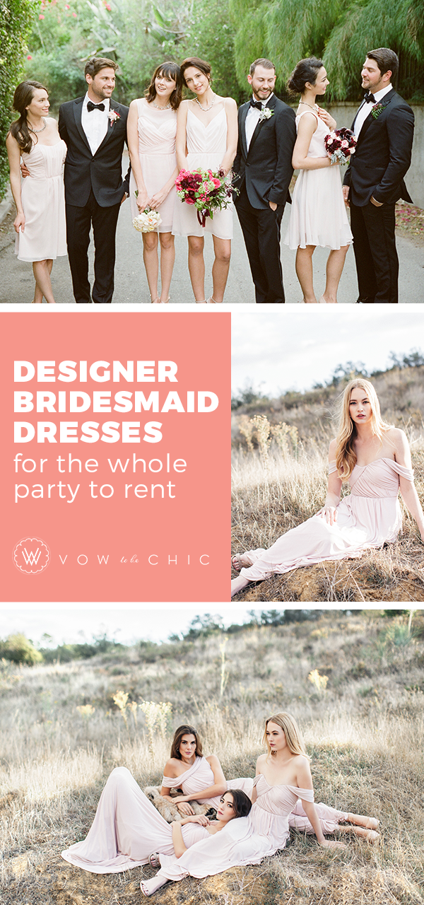 I loved how easy it was for me and my bridesmaids The dresses