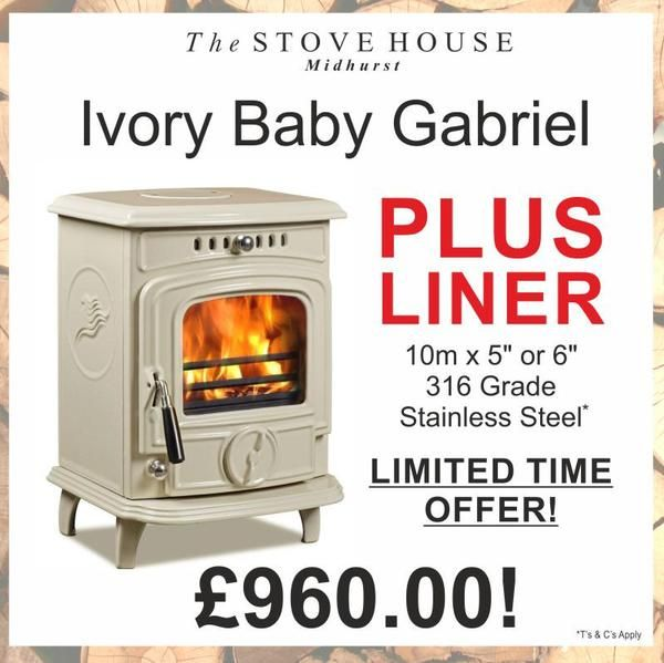 Ivory Baby Gabriel Liner Package At The Stove House See Offers At Shop Thestovehouseltd Co Uk Wood Burning Stove Stove Wood Burning