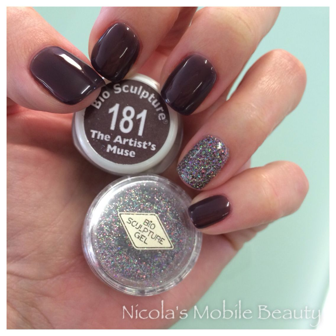 bio sculpture gels 181 the artist 39 s muse with loose. Black Bedroom Furniture Sets. Home Design Ideas