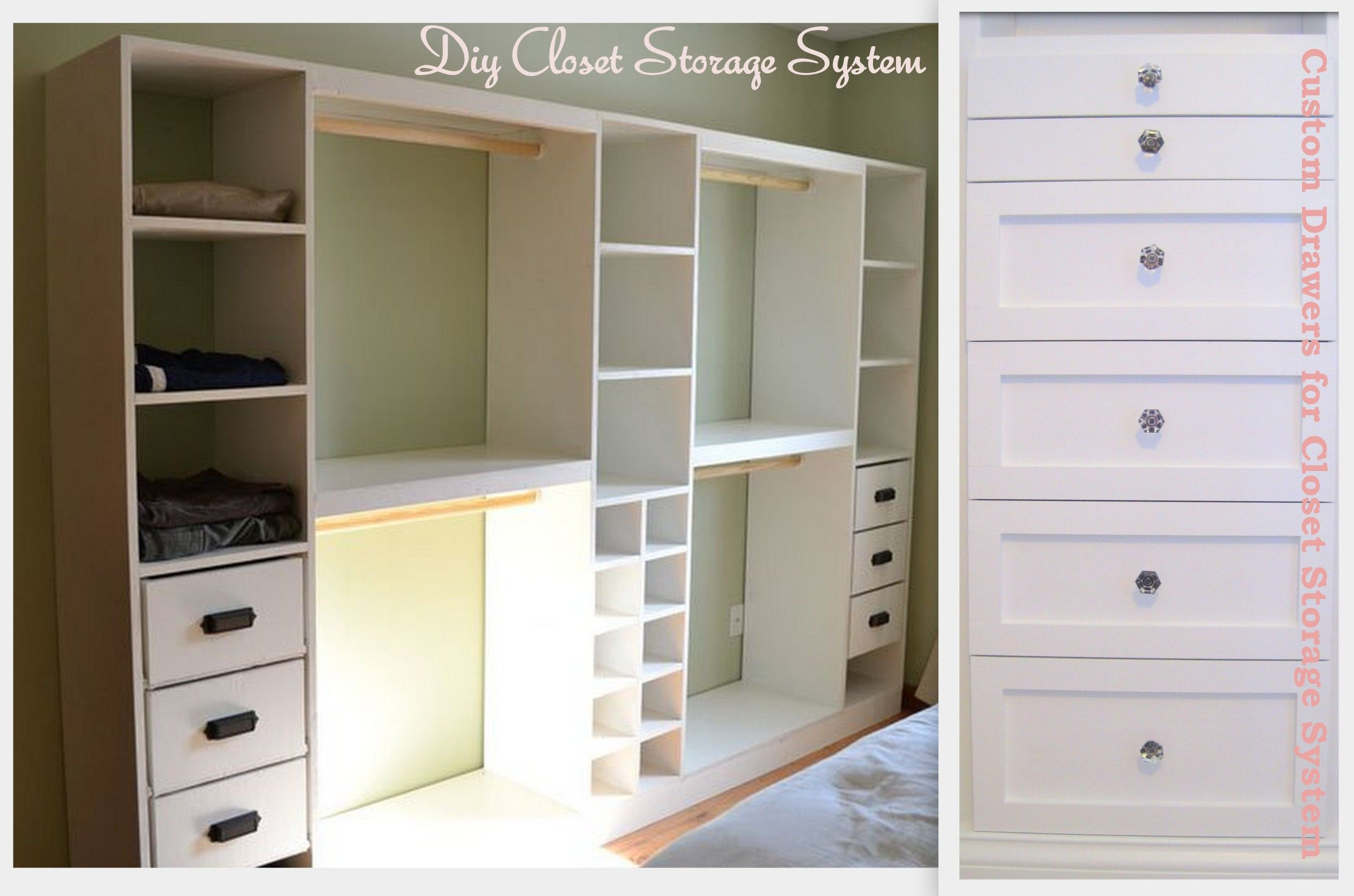 White Custom Closet Organizer | Custom Closet Organizers, Custom Closets  And Organizing