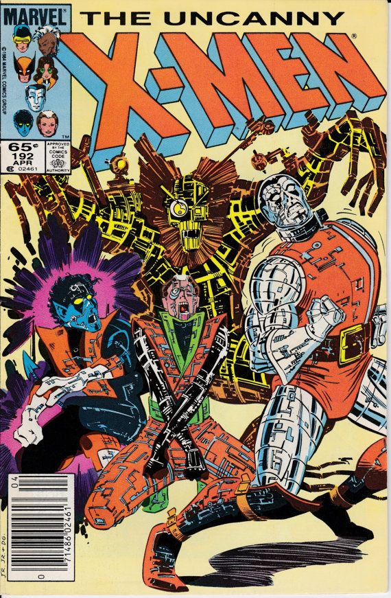 Uncanny X Men 192 1st Series 1963 April 1985 Marvel Comics Grade Vf Marvel Comic Books Marvel Comics Covers Marvel Comics