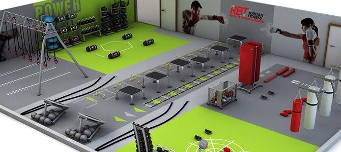 Functional training facility gym pinterest