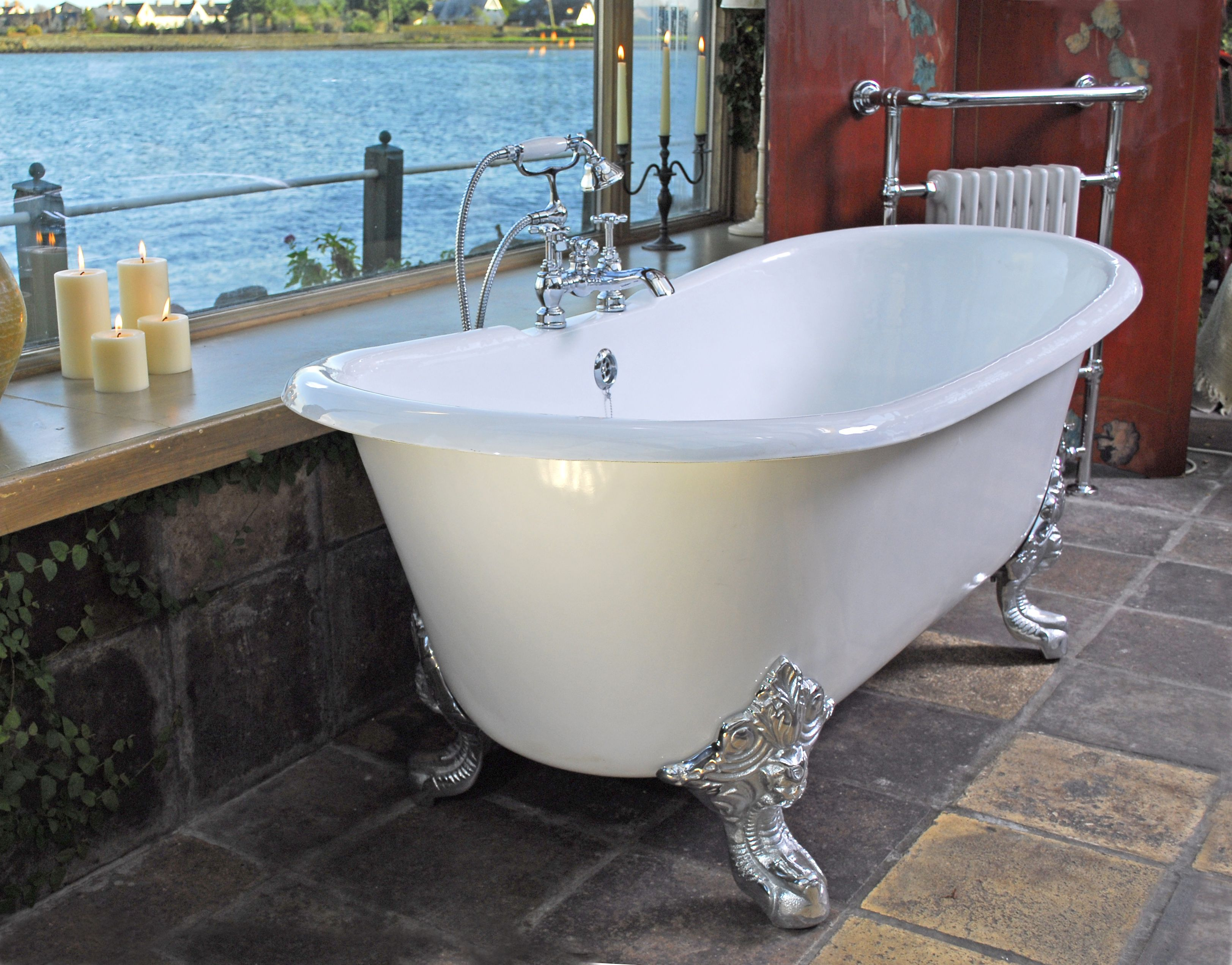 The Milan Cast Iron Bath | Luxury Bathroom | Pinterest | Reclaimed ...