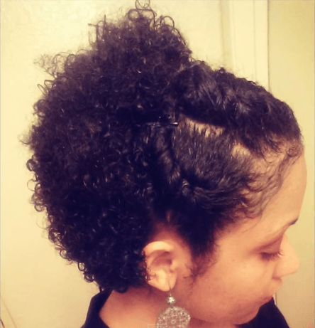 Wash And Go Hairstyles For Thick Hair Classy 3 Wash & Go Styles For Short Natural Hair  Pinterest  Woman