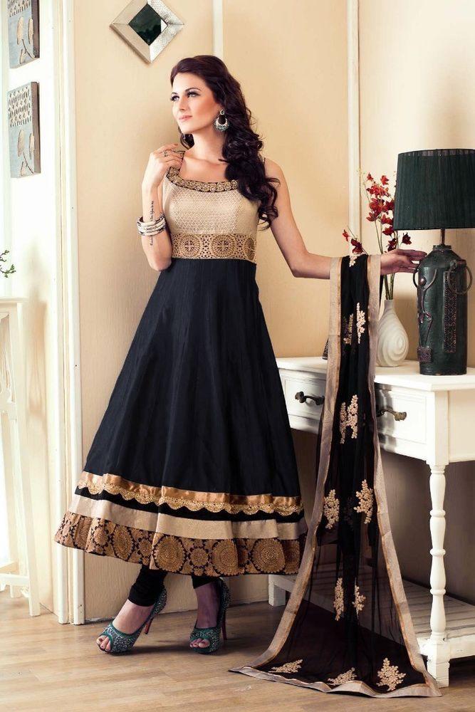 letest new anarkali salwar kameez bollywood wedding dress suit indian pakistani | Indian anarkali dresses, Wedding dress suit, Indian outfits