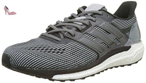 adidas Supernova, Chaussures de Running Entrainement Homme, Gris (Grey Two/Night  Metallic