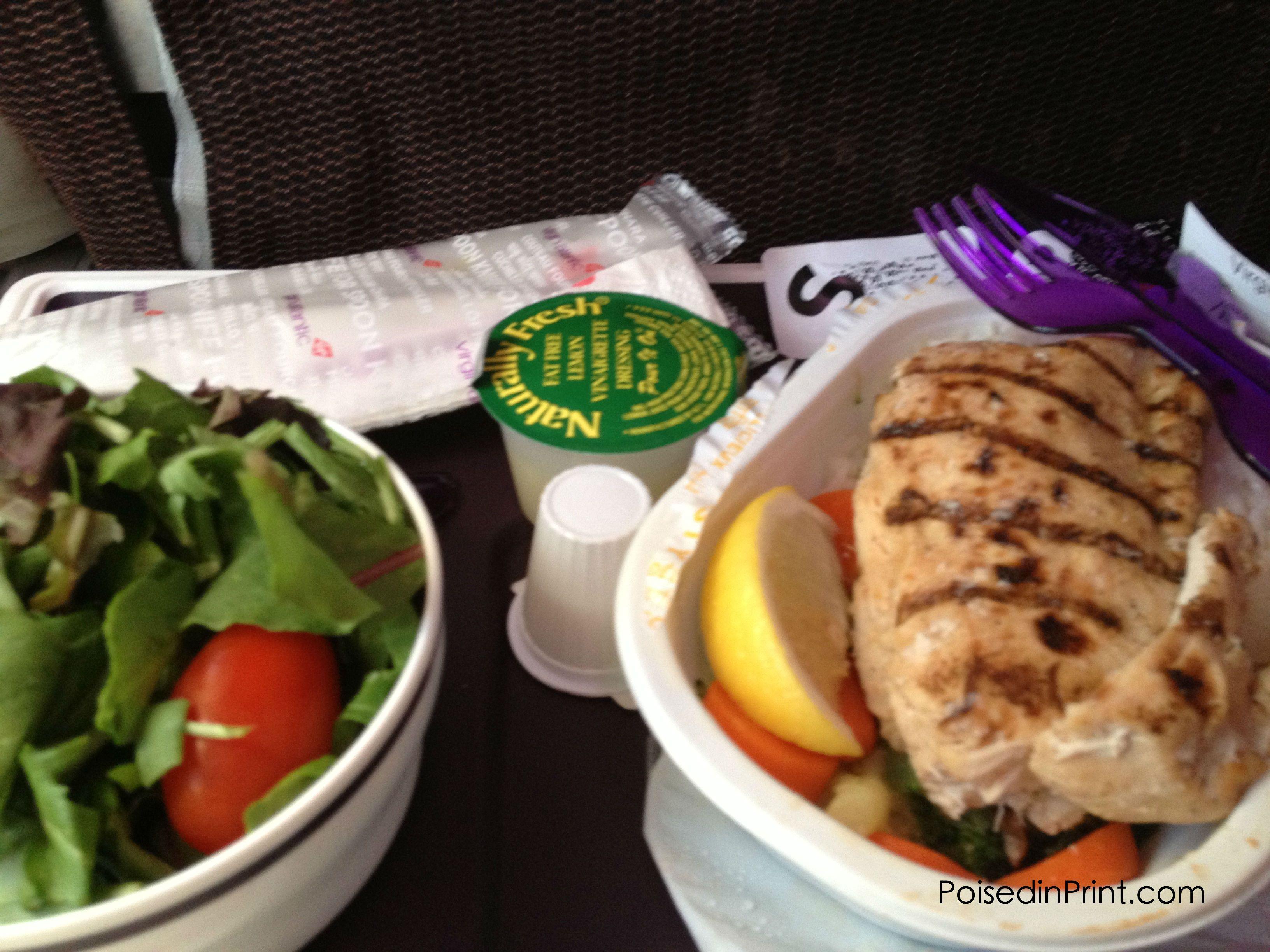 Gluten free airplane food diet health pcos glutenfree