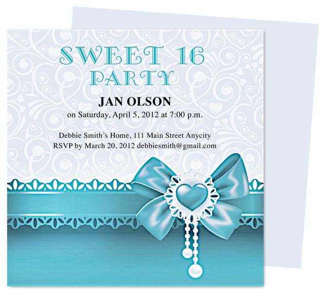 Dancer Birthday Invitation Templates Edits With Word
