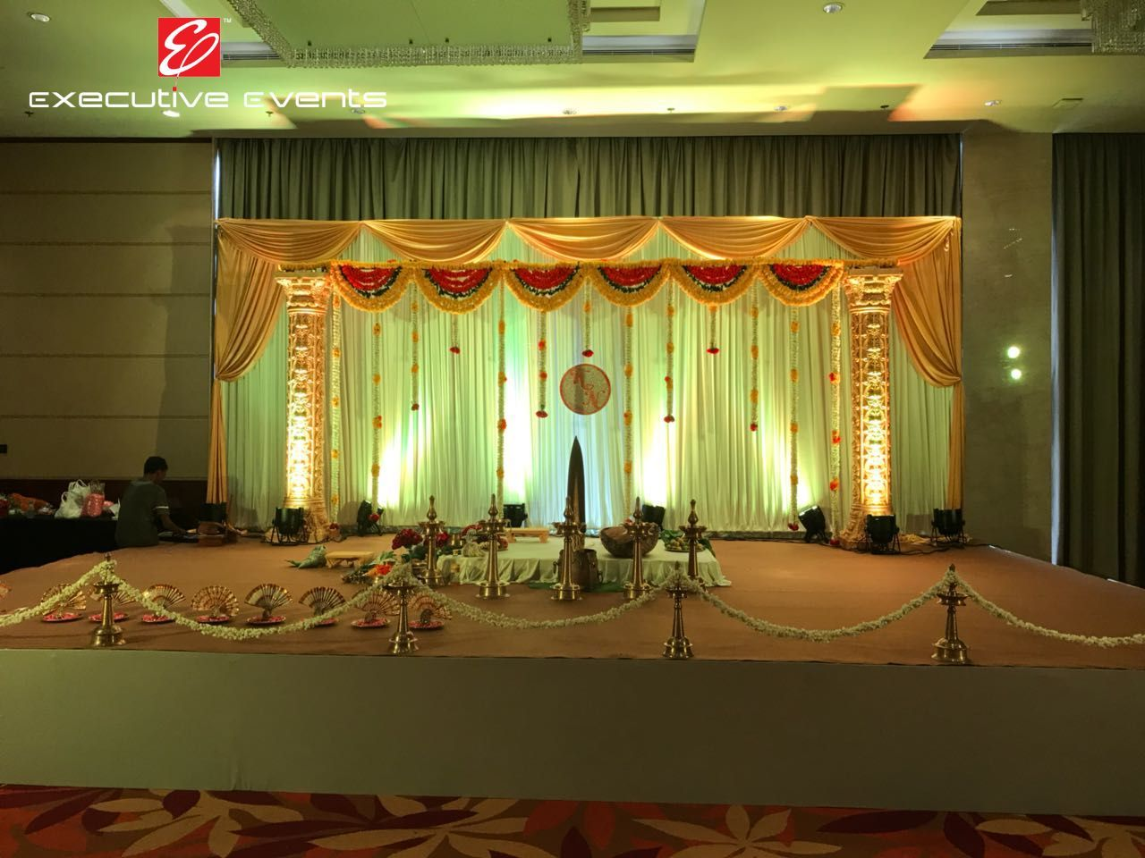 Wedding stage decoration ideas kerala  Pin by Executiveevents on Wedding Stages  Pinterest  Kerala