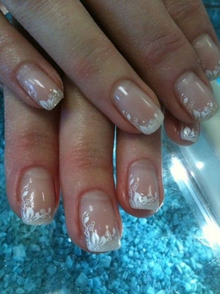 deco ongles gel pour mariage