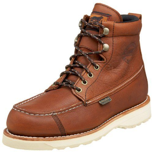 """Irish Setter Men's 838 Wingshooter 6"""" Waterproof Lace-up Boot Irish Setter. $154.99. Leather Hunting Boots. Manmade sole. leather"""