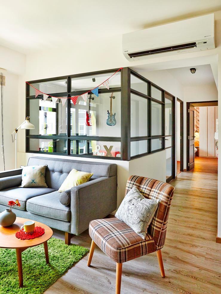 Renovation Ideas For 4a Hdb Living Room: Home & Decor Singapore