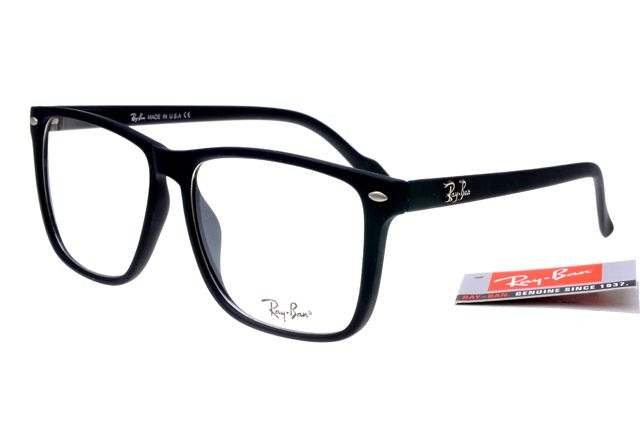 ray ban oakley  Ray-Ban Square 2428 Black Frame Transparent Lens RB1132 [RB1132 ...