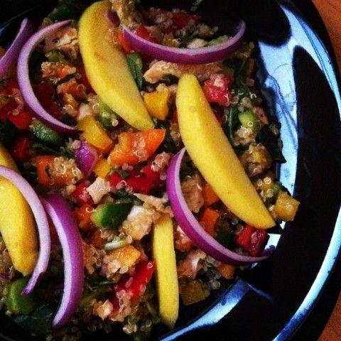 Citrus Quinoa Salad with Chicken and Mango | Revive Wellness