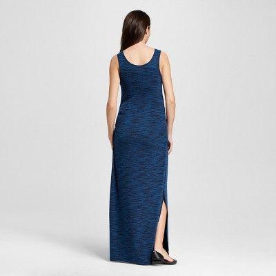 Maternity Spacedye Maxi Tank Dress Blue Xxl - Liz Lange for Target, Infant Girl's
