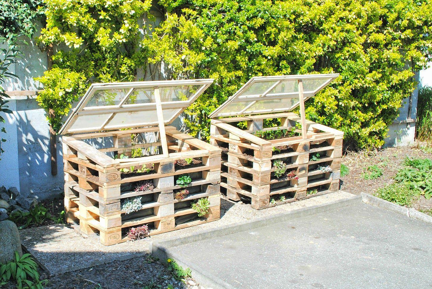 Als Konnte Man Sie Wachsen Horen Garten Hochbeet Paletten Garten Garten