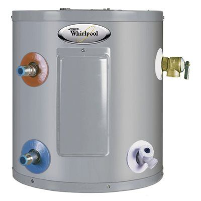 Whirlpool E1f6us017v 6 Gallon Tank Electric Point Of Use Water Heater Water Heater Electric Water Heater