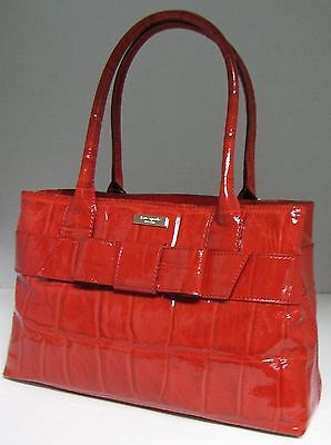 Adorable Kate Spade Handbag Knightsbridge Elena Red Patent Leather Purse