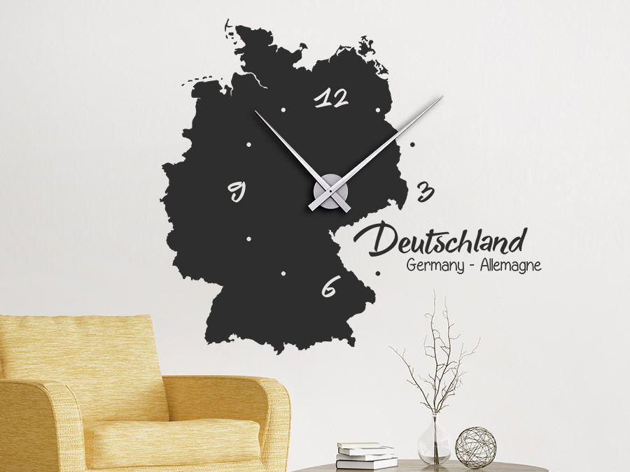 Wanduhr badezimmer ~ Uhr deutschland wanduhr wandtattoo uhr uhr deutschland und