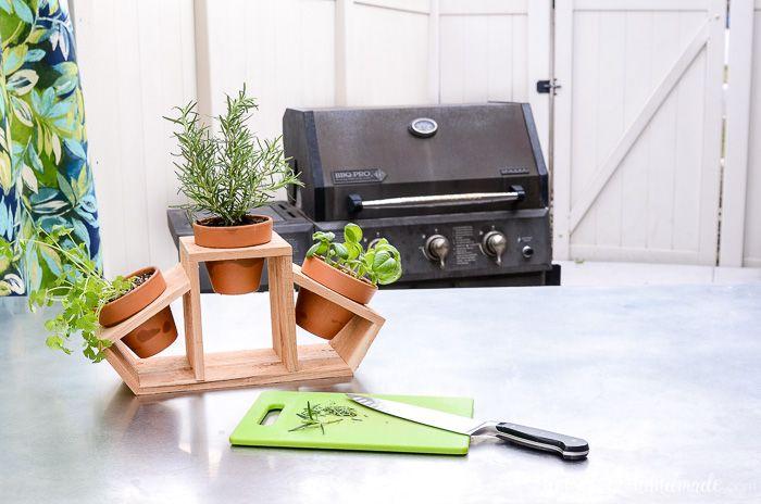 15 Minute Countertop Herb Garden Herb Garden Kitchen 400 x 300