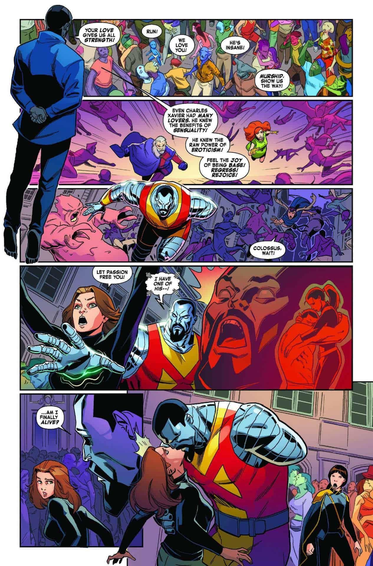 Age Of X Man The Marvelous X Men 4 Preview Brings Out New Old Feelings X Men Xmen Comics Xmen Art