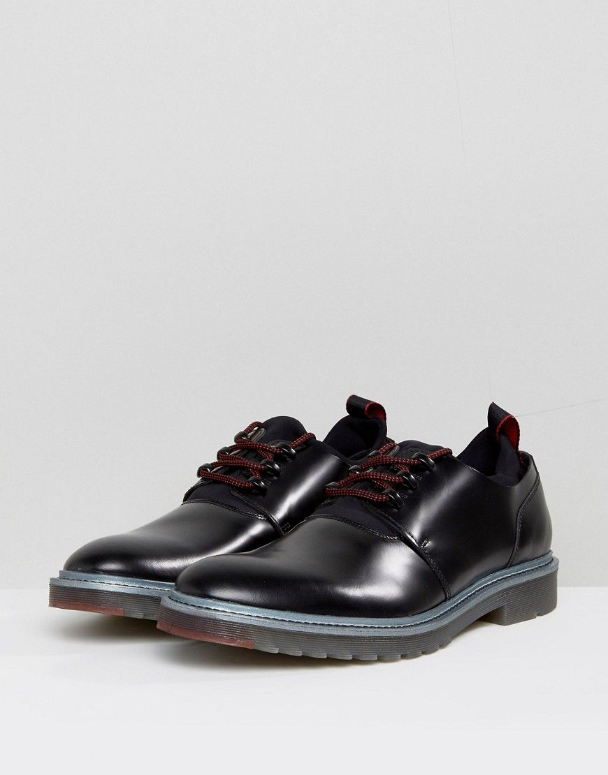 Derby shoes in embossed calf leather by HUGO Man HUGO BOSS lsfDbQD6Vh