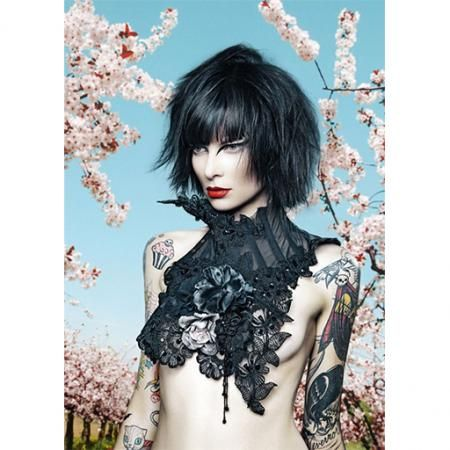 Mother of London-Flower Lace Collar : Ceiba SF