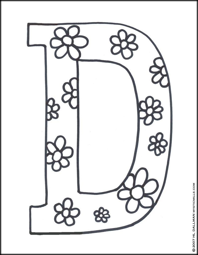 Letter D Printables Letter D Coloring Pages Coloring Pages Pictures Imagixs Letter A Coloring Pages Abc Coloring Pages Free Printable Coloring Pages