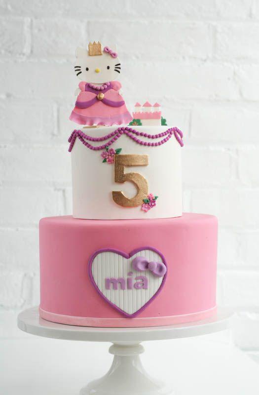 9 Absolutely Gorgeous Princess Cakes | Cake, Hello kitty ...