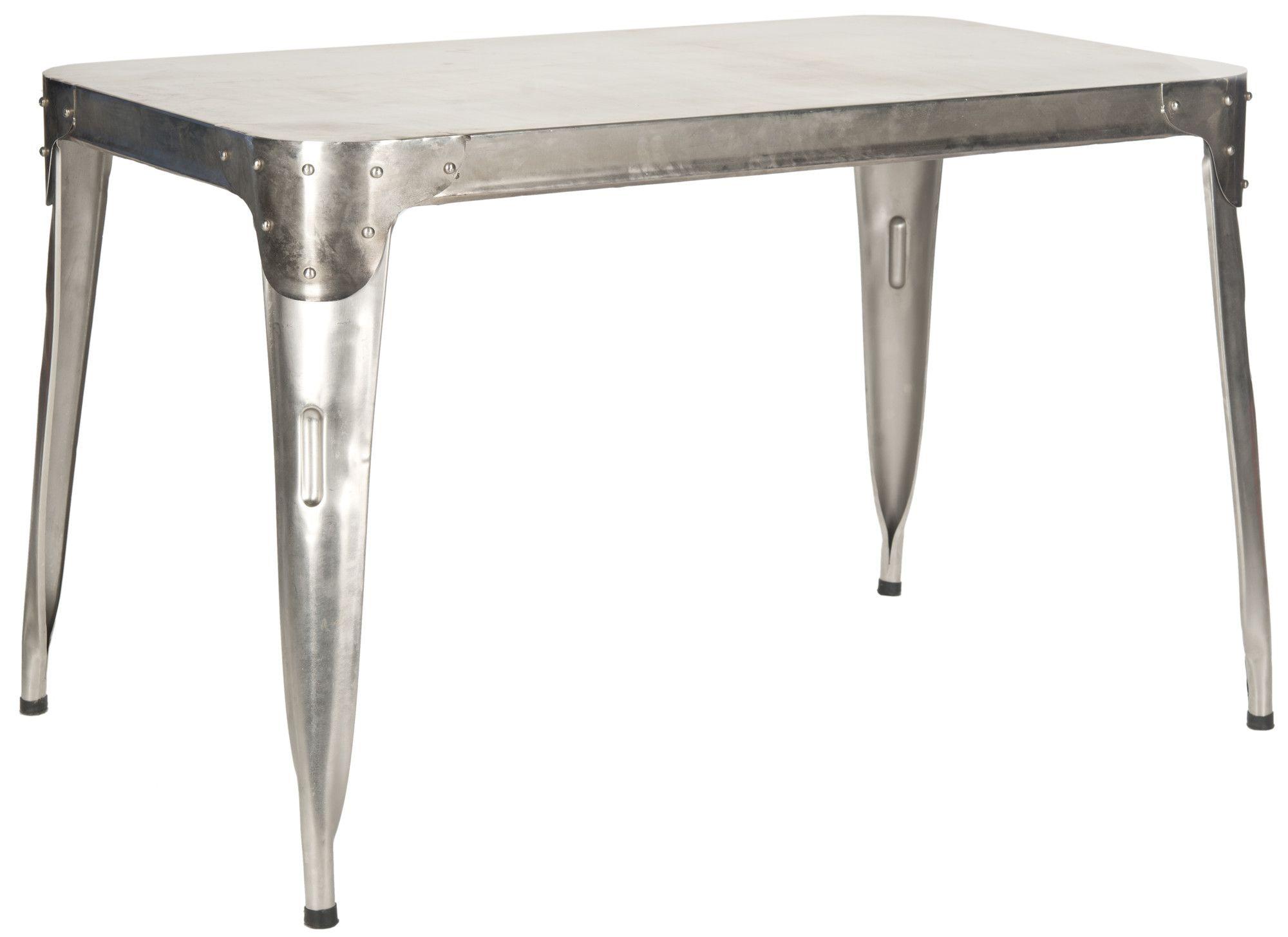 Safavieh Fox Weston Dinning Table Allmodern Industrial Style