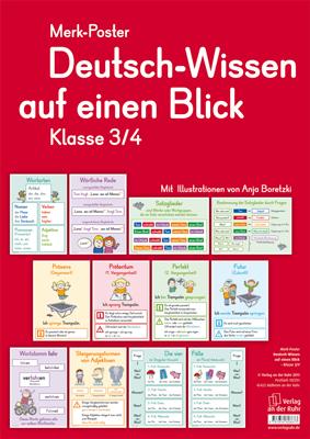 deutsch wissen auf einen blick klasse 3 4 merk poster pinterest deutsch unterricht. Black Bedroom Furniture Sets. Home Design Ideas