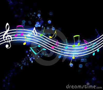 Glowing Music Notes Music Notes Music Images Music Artwork