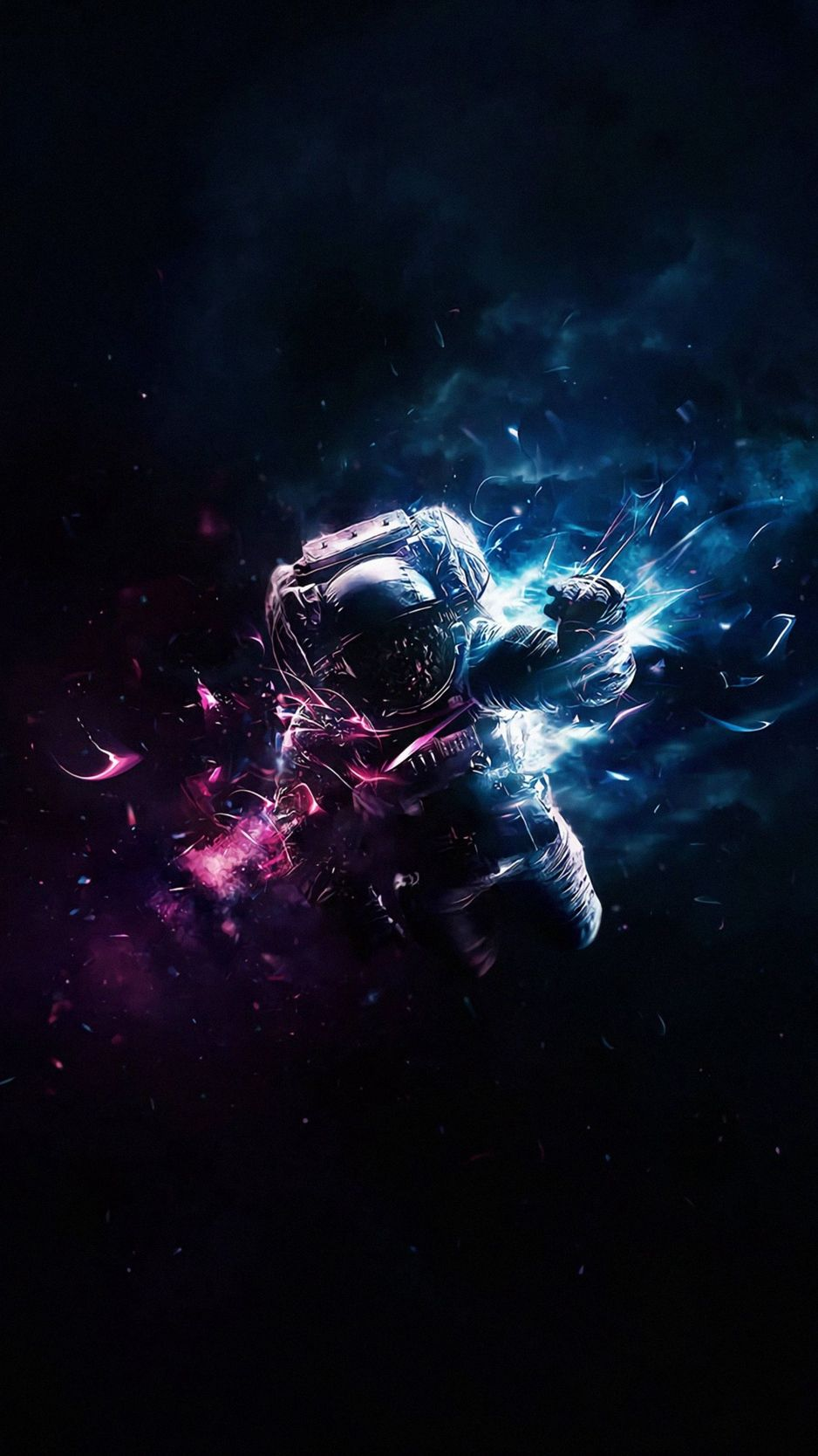 Cosmonaut, astronaut, art, space, flight, gravity