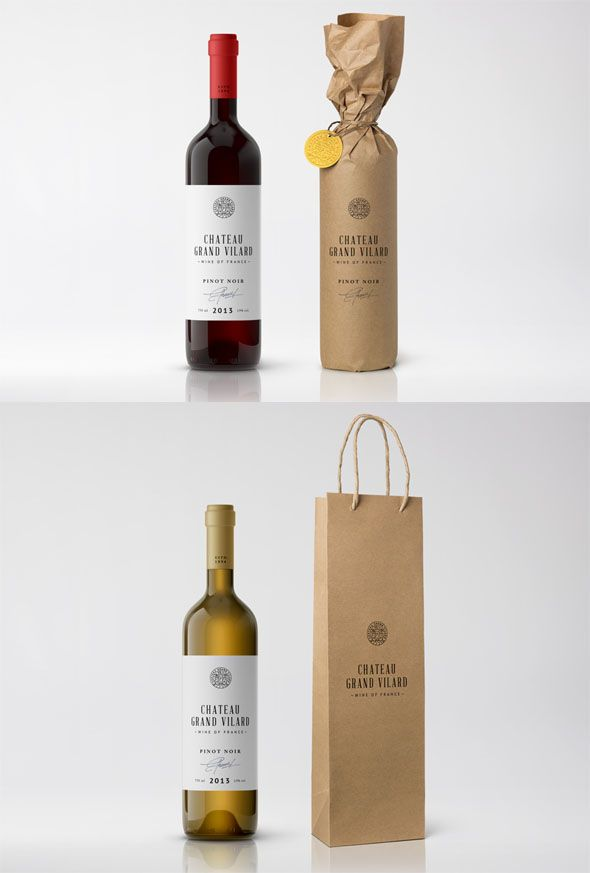 Download Photorealistic Wine Packaging Psd Design Wine Bottle Packaging Wine Bottle Label Design Wine Packaging Design