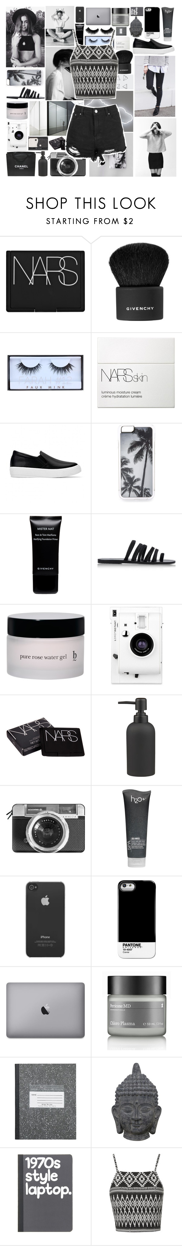 """I'm so Into You,I can Barely Breathe//Ivory"" by clairexivory ❤ liked on Polyvore featuring NARS Cosmetics, Givenchy, Huda Beauty, Zero Gravity, Ancient Greek Sandals, Lomography, Chanel, CO, CB2 and Casetify"