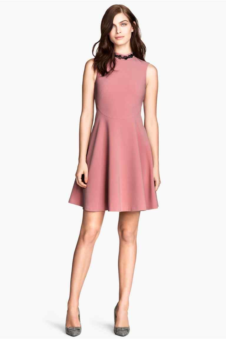 Vestido sin mangas | H&M | Things to Wear | Pinterest | Vestidos sin ...