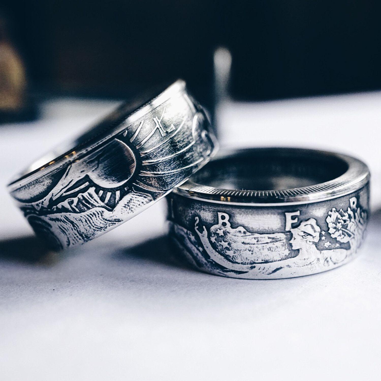 1776 United® Walking Liberty Ring Rings, Coin ring