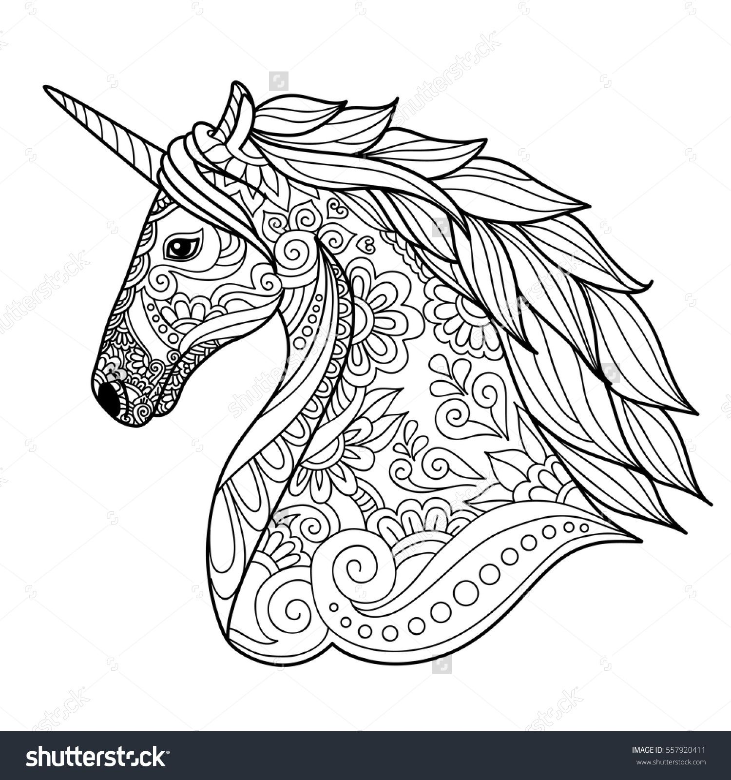 Colouring Imageshutterstock Z Stock Vector