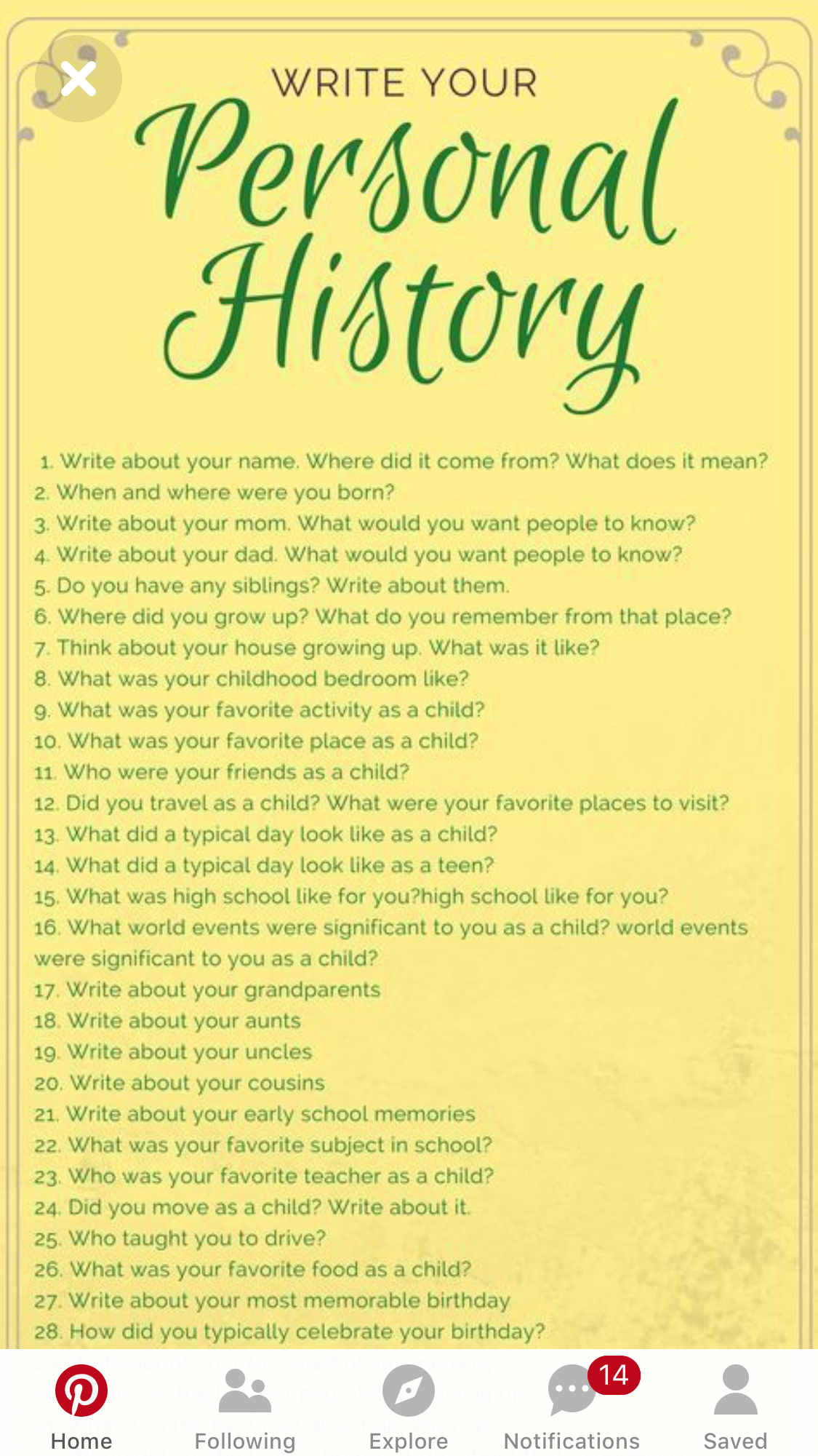 17 Best images about English: Writing Prompts... on ...  |Journals For Adults