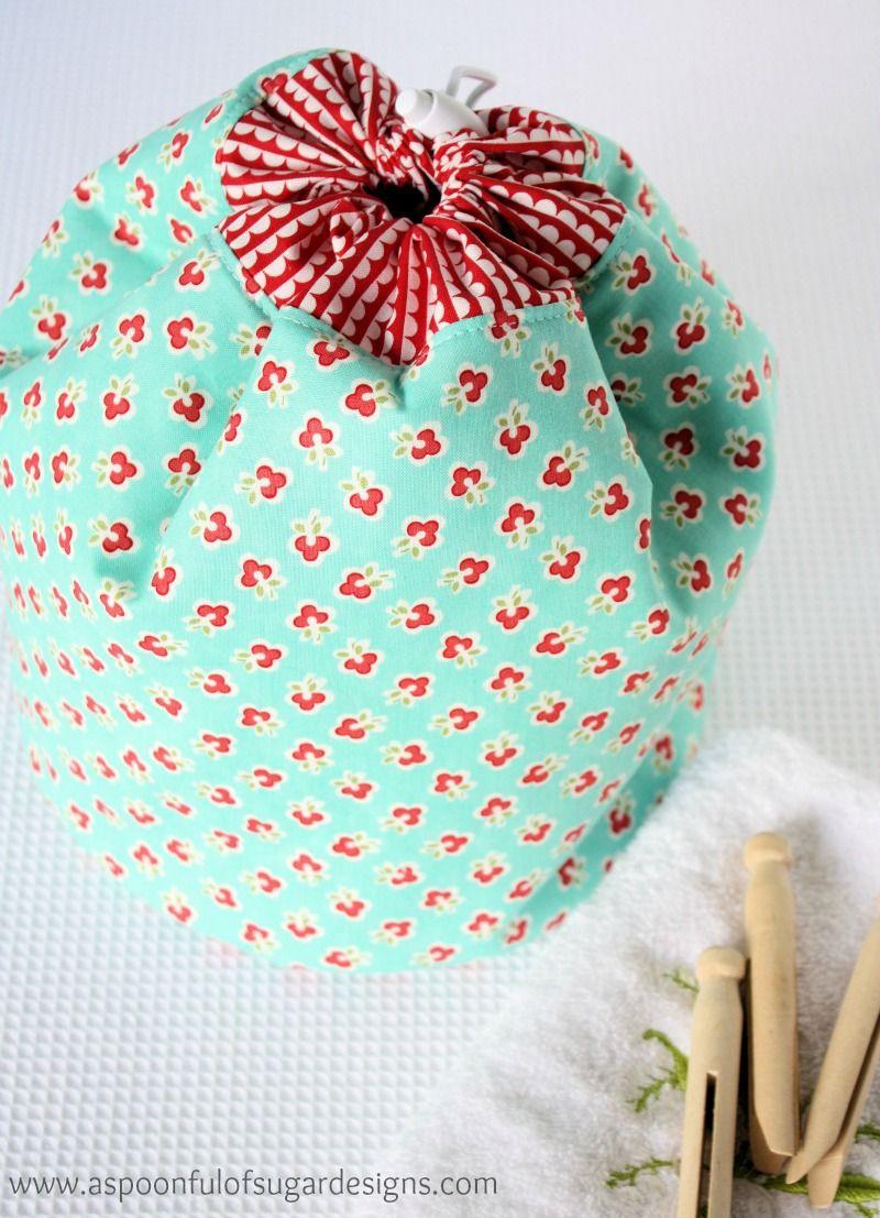 Pretty Peg Bucket - A Spoonful of Sugar | diy nähen | Pinterest ...