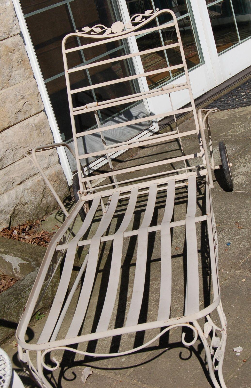 Lyon Shaw Windflower Lattice Patio Furniture Collection Vintage