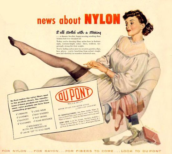 Of Nylon Du Pont 66