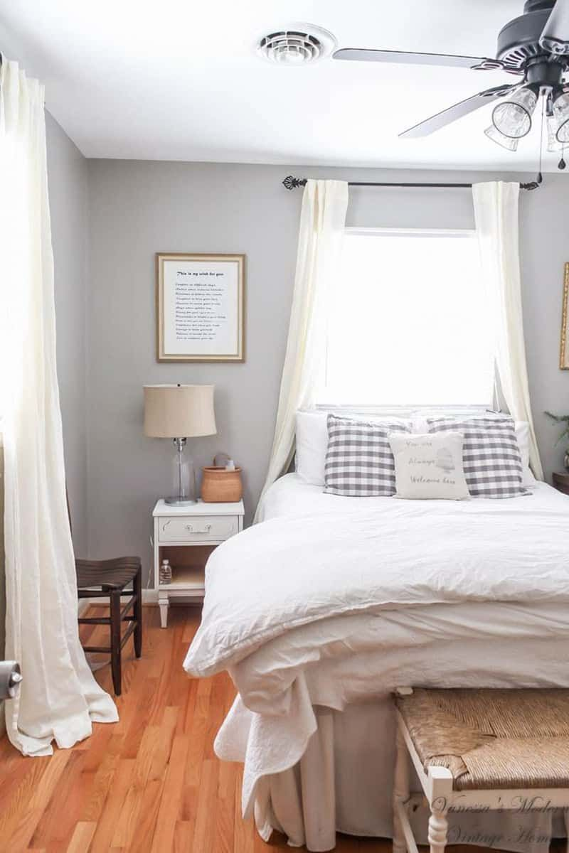Bed against the window   ideas for placing a bed in front of a window  bedrooms