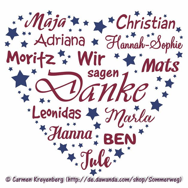 Pdf herz mit namen zum selbstausdrucken holzschilder for Danke erzieherin weihnachten
