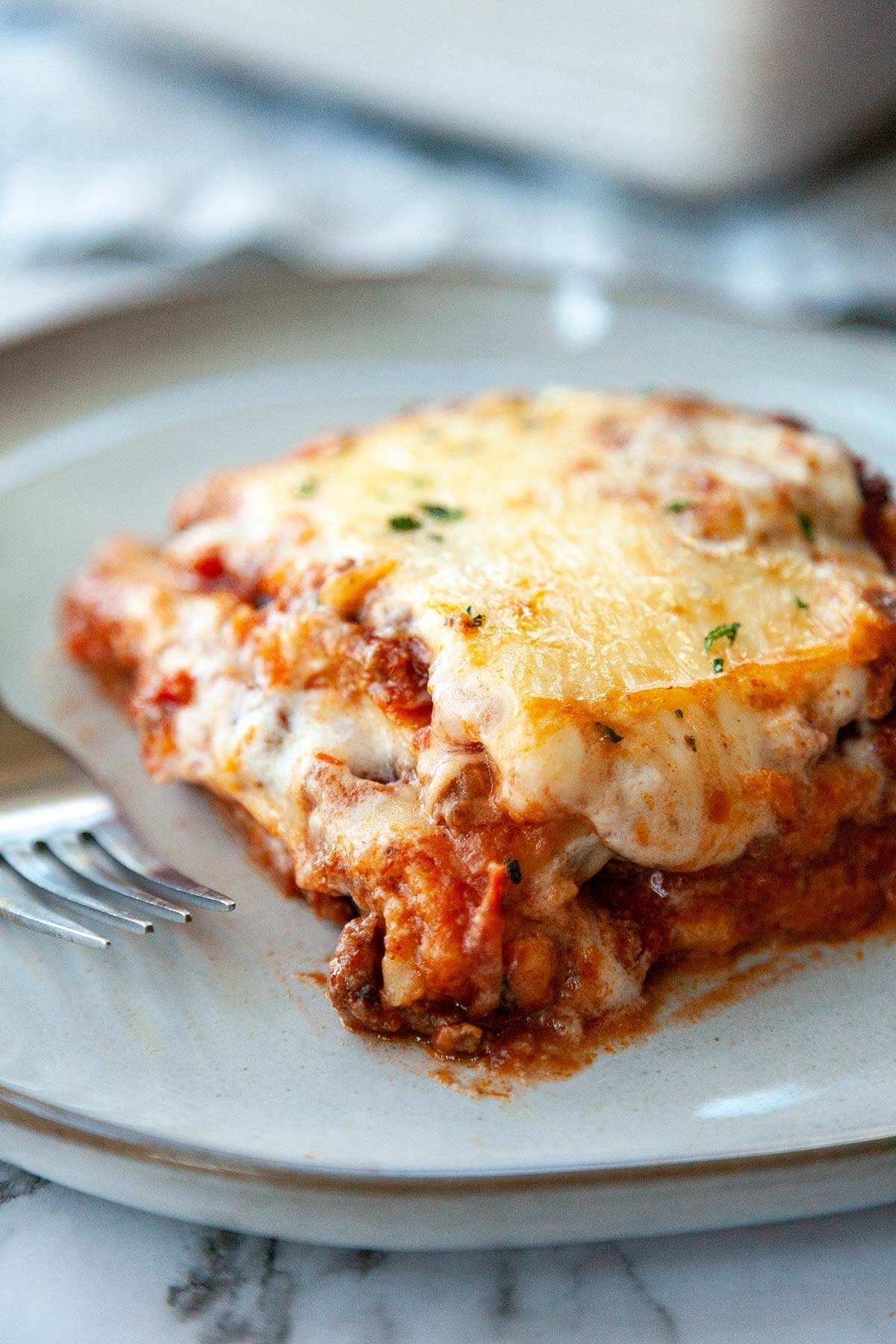 Creamy Lasagna Without Ricotta Cheese Recipe Easy Lasagna Recipe Lasagna Without Ricotta Cheese Lasagna Recipe Without Cottage Cheese